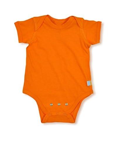 Brights Organic Kid's Short Sleeve Adjustable Bodysuit