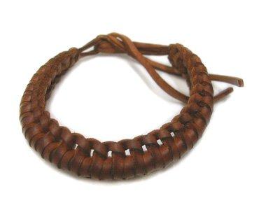 Men's or Women's Leather Bracelet