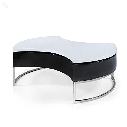 Royal Oak Aster Coffee Table (Black and White)