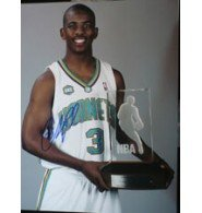 Signed Paul, Chris (New Orleans Hornets) 11x14 Photo autographed by Powers+Collectibles