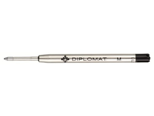 Diplomat Cartouche Recharge Stylo-bille Géant Point Moyenne Rouge