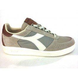 DIADORA heritage B.ELITE ITA GRIGIO sneakers uomo in pelle - Grigio, EUR 43