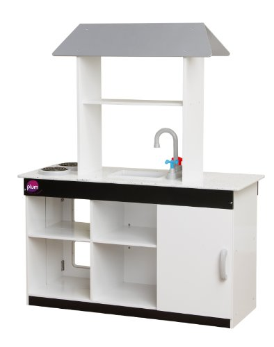 Plum Boston Wooden Role Play Kitchen with Accessories