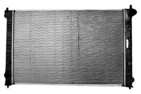 TYC 2768 Mazda MPV 1-Row Plastic Aluminum Replacement Radiator (2005 Mazda Mpv Radiator compare prices)