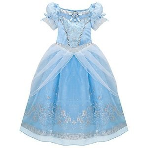 Amazon.com: Disney Glitter Princess Cinderella Costume Dress for Girls