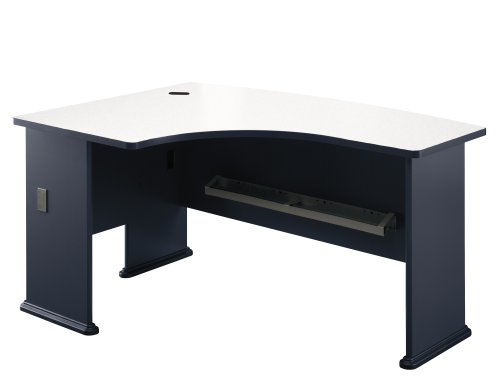 BUSH BUSINESS FURNITURE Series A:Left L-Bow Desk