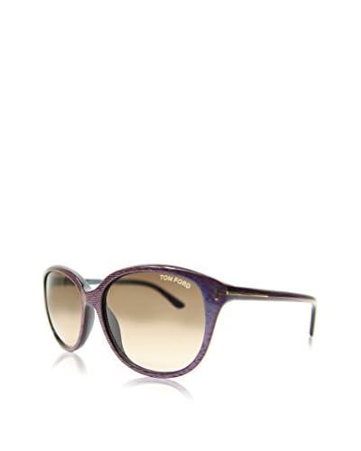 Tom Ford Gafas de Sol KARMEN 0329S-83F (57 mm) Lila / Marrón