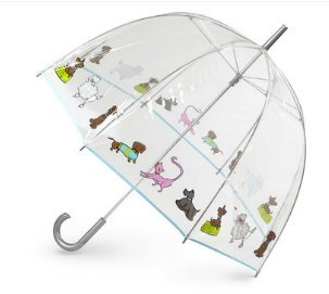 Totes Women's Bubble Umbrella