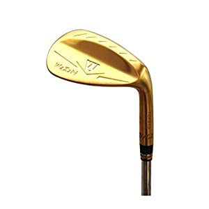 Japan Wazaki 14K Gold M Forged Soft Iron USGA R A rules of Golf Club Wedge