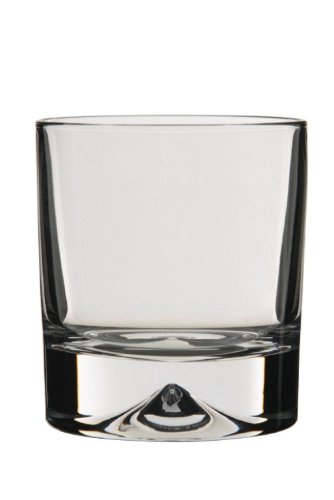 Dartington Crystal Dimple Old Fashioned Tumbler (Pair)