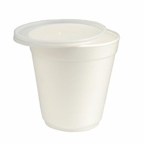 Papstar lot de 6 bols à soupe chinois avec couvercle iSO 600 ml, 12 x 14,5 cm (36 pièces)