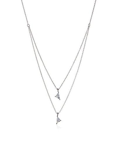 Jardin Women's Nested Kite CZ Necklace