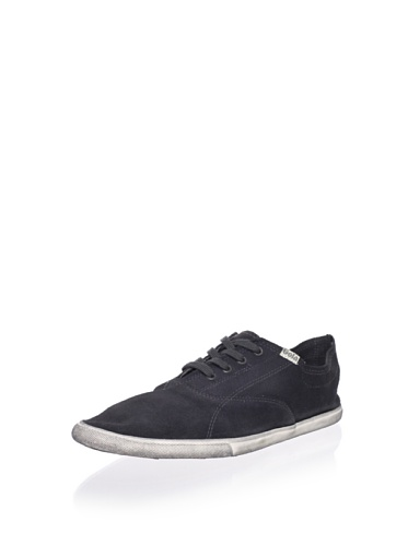 Gola Men's Cove Sneaker, Anthracite/Ecru, 12 M US