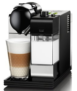 Best Price DeLonghi Silver Lattissima Plus Nespresso Capsule System