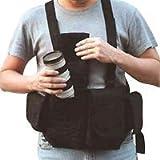 Newswear Mens Digital Chestvest - Digital SLR Camera & Lens Carry System - Black.