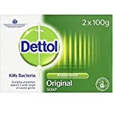 THREE PACKS of Dettol Antibacterial Bar Soap Twin Pack