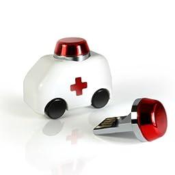 MOE Ambulance Car 8 GB USB Flashdrive