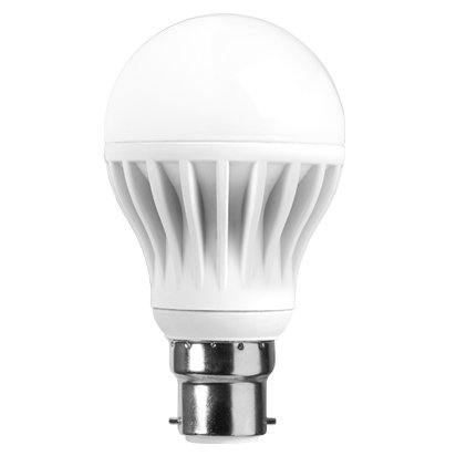 E27 7W LED Bulb (White, Pack of 4)