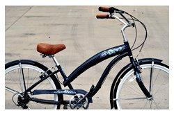 Anti-Rust Aluminum Alloy Frame! Fito Modena EX Alloy 7-speed Women - Midnight Blue, 26