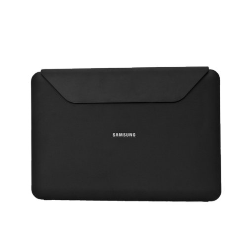 Samsung Leather Book Cover Case for Samsung Galaxy Tab 10.1 in Black