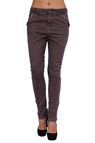 DIESEL - Jeans Donna PEIKKI - Strech - marrone, W26