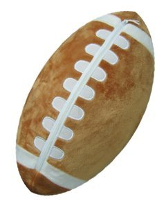 Football Sports Pillow by Komet Creations
