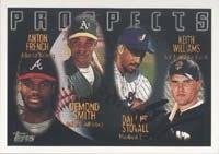 Keith Williams San Francisco Giants 1996 Topps Prospects Autographed Hand Signed... by Hall+of+Fame+Memorabilia