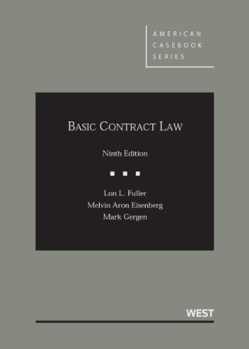 Free Download Basic Contract Law, 9th Edition (American