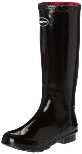 Havaianas Helios Rain Boots, Stivali di gomma Donna, Black, 37 EU