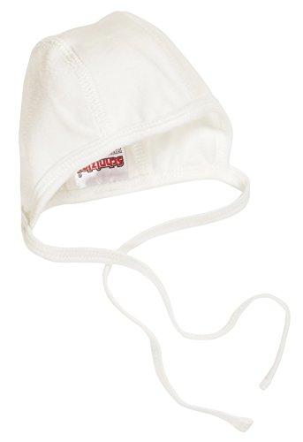 Schnizler Unisex Baby Mütze Erstlingsmütze Nicki, Oeko Tex Standard 100, Gr. Neugeboren (Herstellergröße: 50/56), Beige (natur 2)