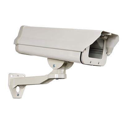 VideoSecu Outdoor Weatherproof Heavy Duty Aluminum CCTV Security Surveillance Camera Housing Mount Enclosure HS861 M57