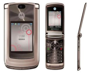 Motorola V9 Razr2 Special Rose Gold Edition Unlocked 3G GSM HSDPA Cell Phone Mobile