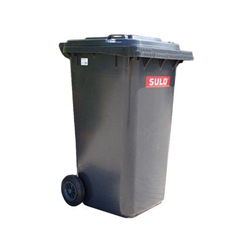 30 Litros Cubo de basura con 2 compartimentos Protenrop Ecol-Duo