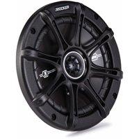 """Kicker Dsc65 (41Dsc654) 6 1/2"""" D-Series Coaxial 2-Way Speaker With 1/2"""" Tweeter"""