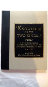 Knowledge Is of Two Kinds
