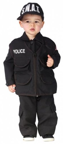 Toddler Boy's Authentic S.W.A.T. Halloween Costume