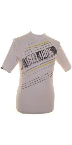 Billabong Banks - Maglietta in Lycra a maniche corte da uomo, Bianco (bianco), L