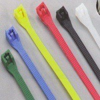 "Calterm 73242 ""Tradepak"" Assorted Color Cable Tie 8"" Pk/100"