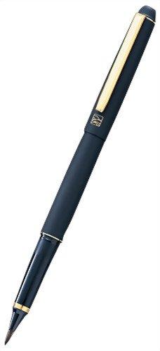 Kuretake くれ竹 Mannen brush-this 毛皮調 black shaft DV140-40.