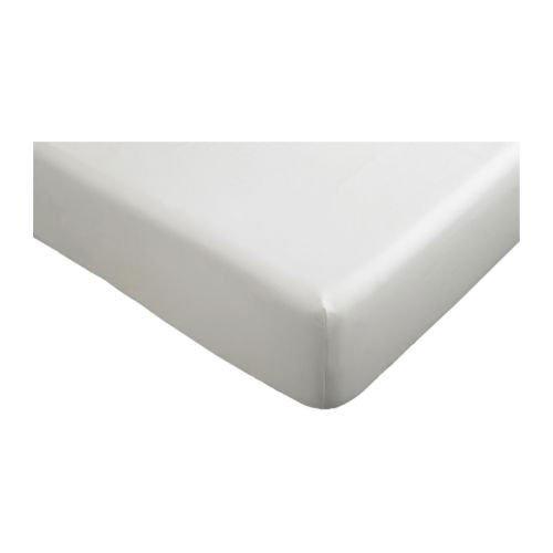 Ikea Drap Housse Knoppa Sans Agents De Blanchiment Blanc 90 X 200 Cm A C Paisseur Max Du Matelas 25 Cm In Philadenphia Sdfgfddvc1