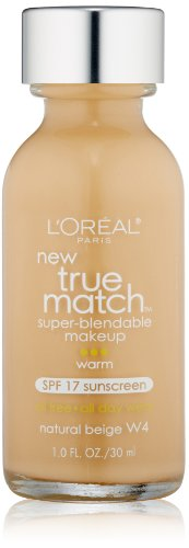 L'oreal True Match Super-blendable Makeup, Natural Beige, 1-Fluid Ounce