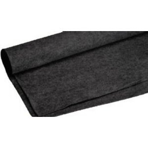 Absolute C3Bk 3-Feet Long/4-Feet Wide Back Carpet For Speaker Sub Box Carpet Rv Truck Car Trunk Laner