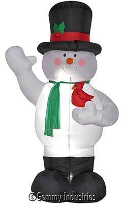 Gerson Company 1821970 Snowman Lights, 8-Feet