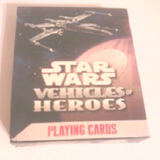 Star Wars Playing Cards Vehicles of Heroes