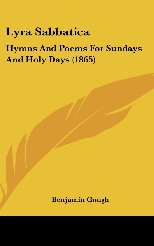 Lyra Sabbatica: Hymns and Poems for Sundays and Holy Days (1865)