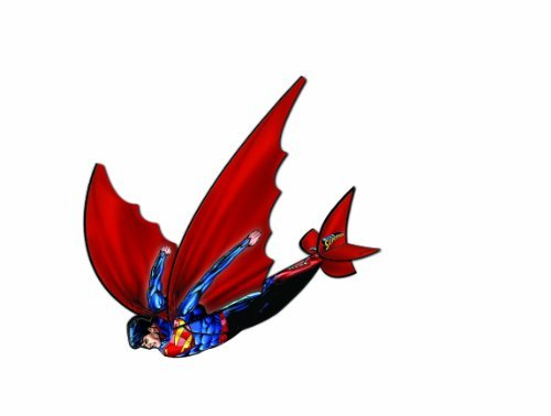 Flexwing 3-d Nylon 16-inches Glider Superman by X-Kites