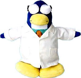 Buy Low Price Jakks Pacific Disney Club Penguin 6.5 Inch Series 2 Plush Figure Gary the Gadget Guy (Includes Coin with Code!) (B001U5AKYA)