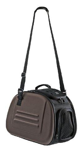 Hunter-47656-Hundetragetasche-Luxus-braun
