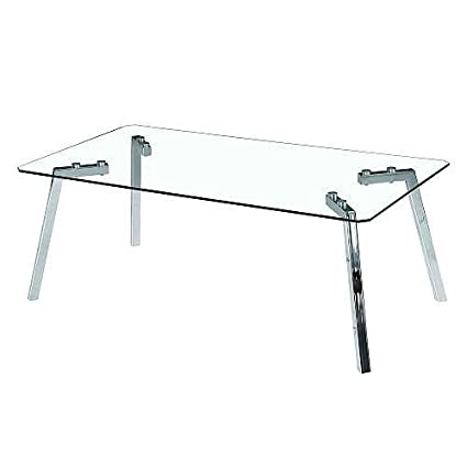 Lumisource Glacier Coffee Table in Clear
