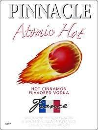Pinnacle Vodka Atomic Hots 1 Liter